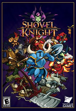 Shovel Knight box art