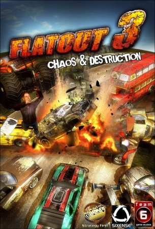 Flatout 3: Chaos & Destruction box art