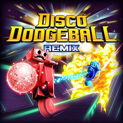 Disco Dodgeball Remix box art