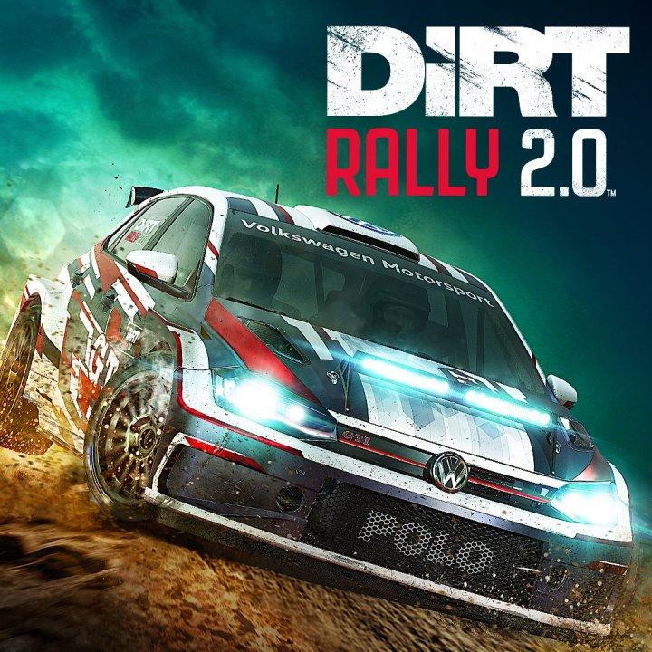 DiRT Rally 2.0 box art