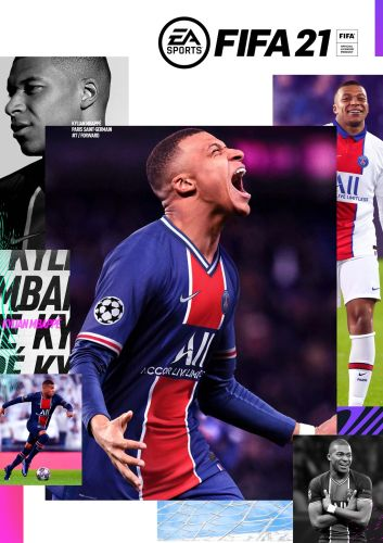 FIFA 21 box art
