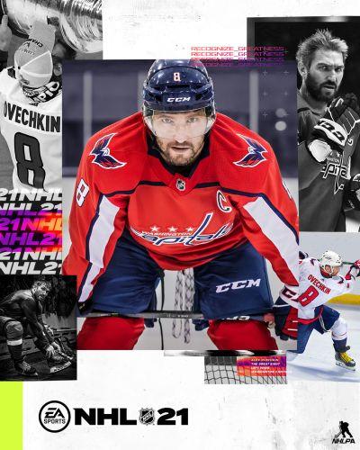 NHL 21 box art