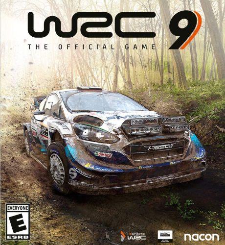 WRC 9 box art