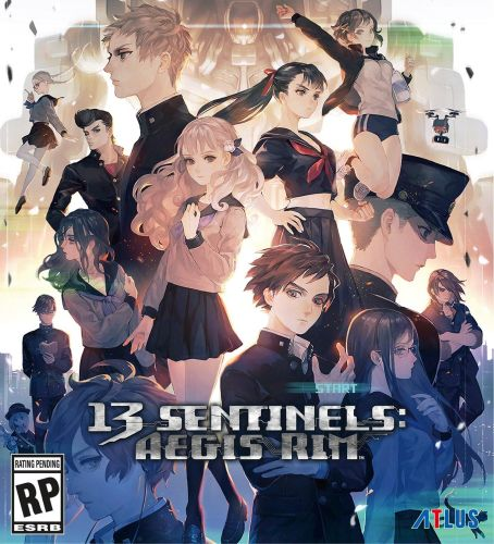 13 Sentinels: Aegis Rim box art