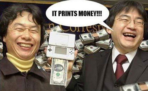 nintendo it prints money