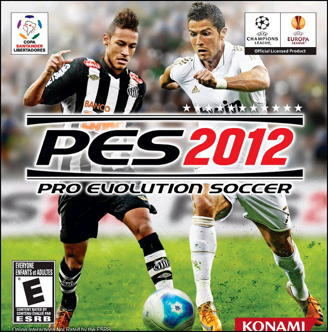 pes 2012 north america cover